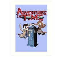 Adventures In Time Art Print