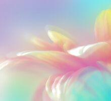 Rainbow Cerbera Petals by Elaine  Manley