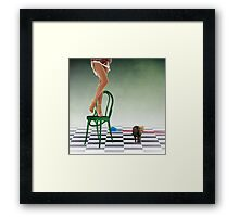 The Danger with Stereotypes Framed Print