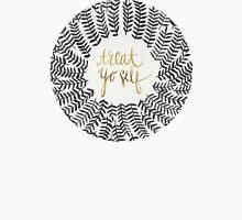 Treat Yo Self – Black & Gold T-Shirt