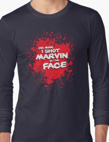 IN THE FACE !!! Long Sleeve T-Shirt