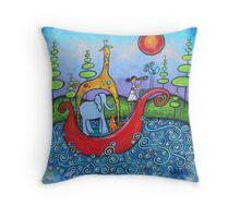 The Adventurers II Throw Pillow