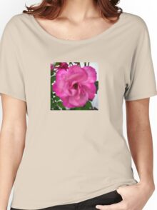 Pink Dot Rose (S180915pdr) Women's Relaxed Fit T-Shirt