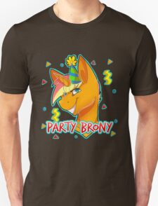 PARTY BRONY - MLP by CCwolfie T-Shirt