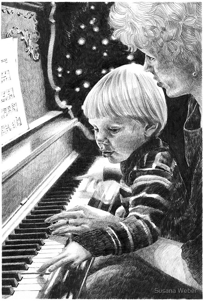 The Piano Lesson by Susana Weber