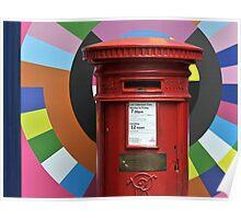 New Order Post Box Poster