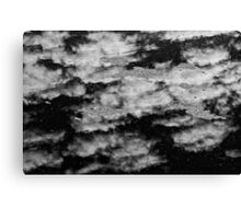 Water and sky Canvas Print