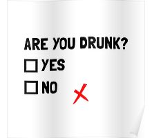 Are You Drunk Poster