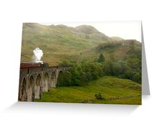 Highlands Steam Greeting Card