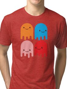 Friendly Ghosts Tri-blend T-Shirt