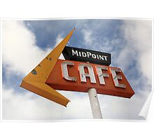 Route 66 Cafe Poster