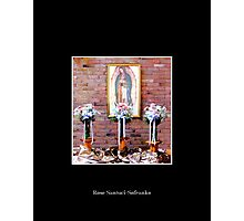 Our Lady of Guadelupe Photographic Print