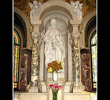 St. Anne and St. Mary Statue by Rose Santuci-Sofranko