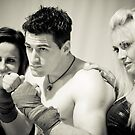 promo shot with ring girls by daveharrisonnet