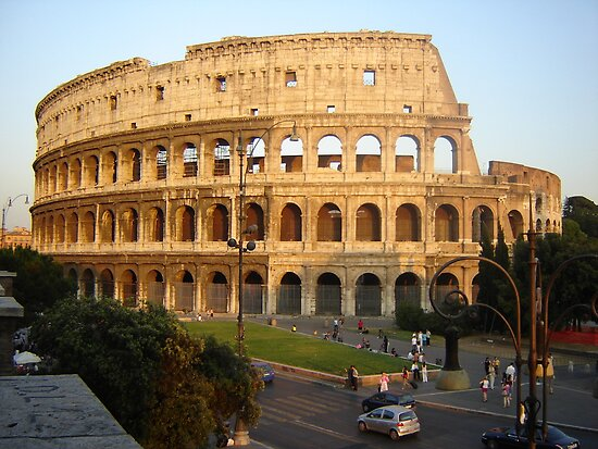the coliseum, rome by hassanshawky