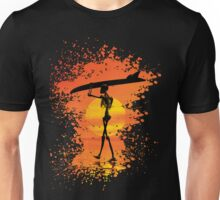 Skeleton with surfboard Unisex T-Shirt