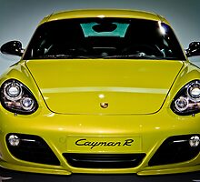 Porsche Cayman R by WilliamJPhoto
