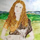 Saint Agnes by TriciaDanby