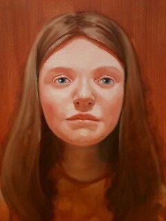 Raw sienna study by Rachel  Aponte