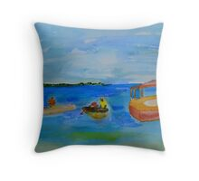 sea chat Throw Pillow