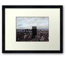 Boston View Framed Print