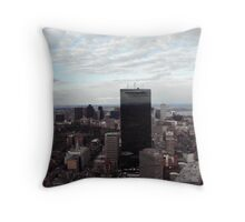 Boston View Throw Pillow