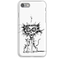 Angst Cat iPhone Case/Skin