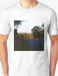 Going home after a long day out, serenity of Kilmore East VIC Australia Unisex T-Shirt
