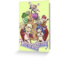 [RO1] Creative Design September 2015 Winner - Heroes Vs Monsters Greeting Card