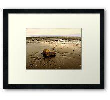 Sand Bay Framed Print