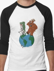 Bear and Rabbit go globetrotting T-Shirt