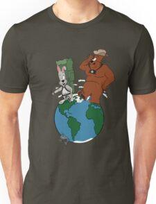 Bear and Rabbit go globetrotting T-Shirt