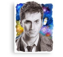 Doctor Who No.10 - David Tennant 1 Canvas Print