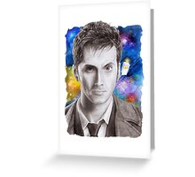 Doctor Who No.10 - David Tennant 1 Greeting Card