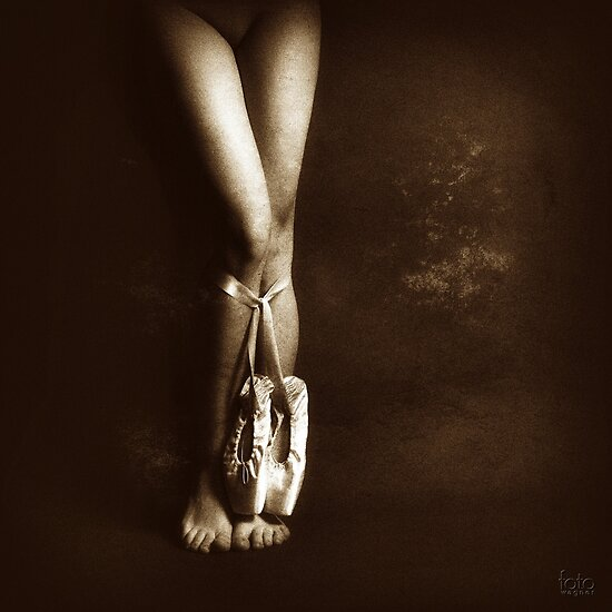 Bound by ballet shoes by fotowagner