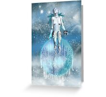 Winter Dreams Greeting Card