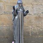 Living statue: Santiago de Compostela, Spain by Steve