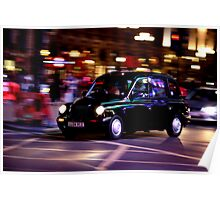 Taxi in London Poster