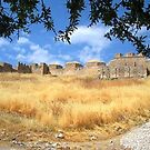 View of Acro Corinth in Greece by Ocean1111