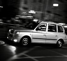 Taxi speeding up by remos