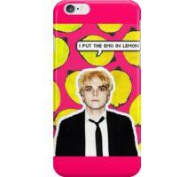Emo In Lemon iPhone Case/Skin