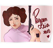 Princess Leia | Prints / Phonecases & Notebooks  Poster