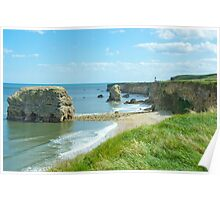 Marsden rock South Shields Poster