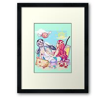 [RO1] Creative Design September 2015 Winner - Ragnarok Online Framed Print