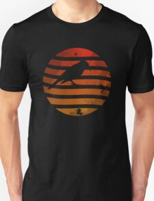 Bird Grunge Sunset T-Shirt