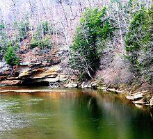 Sugar Creek at Turkey Run State Park 3 by KristaLightning