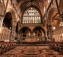 The Quire at Exeter Cathedral by Darren Wilkin