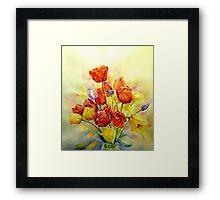 Tulip ,A spring Celebration ! Framed Print