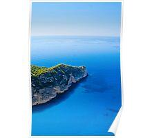 The Blue Horizon - Zante Poster