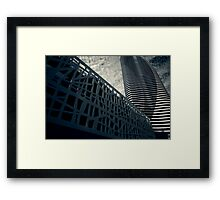 Broadbeach in Abstract Framed Print